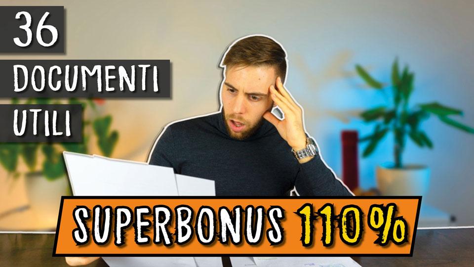 Superbonus 110% | 36 documenti utili 📚